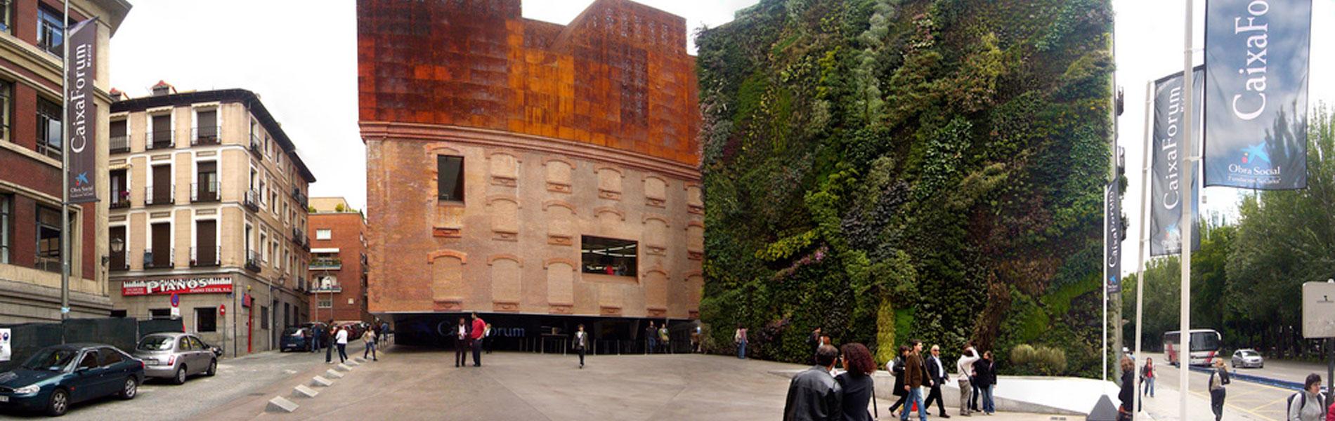 Il giardino verticale funzioni struttura filosofia - Giardino verticale madrid ...